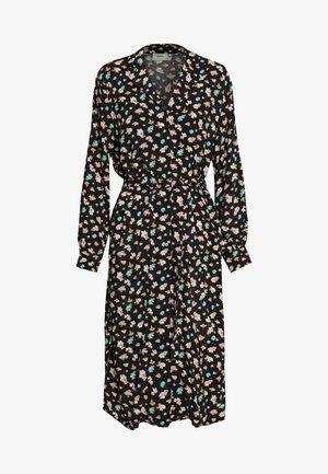 KALIMA - Shirt dress - black