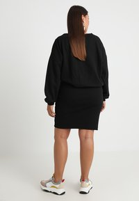 Urban Classics Curvy - LADIES DRESS - Denní šaty - black - 2