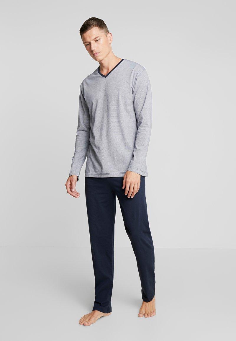 TOM TAILOR - PYJAMA - Pyjamas - blue