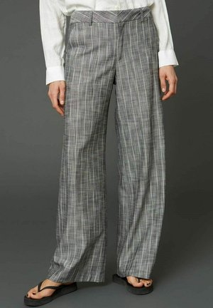 EASE  - Trousers - grey stripe
