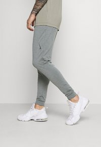 Nike Performance - PANT DRY YOGA - Pantalones deportivos - smoke grey/iron grey/black - 3