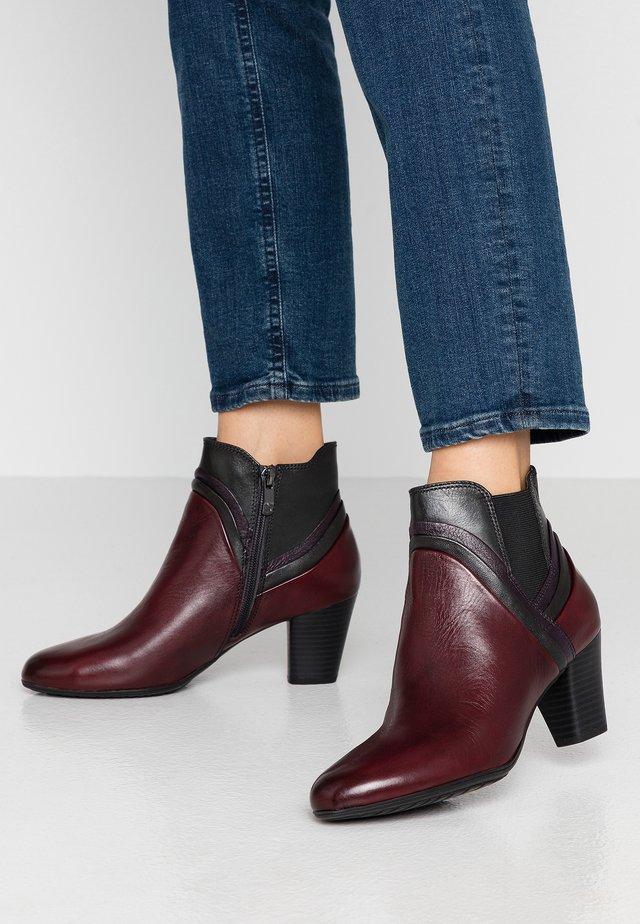BOOTS - Ankle boots - bordeaux