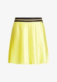 WE Fashion - Pleated skirt - yellow - 0