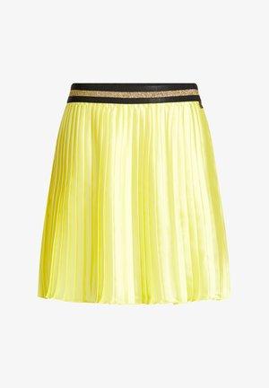 Jupe plissée - yellow