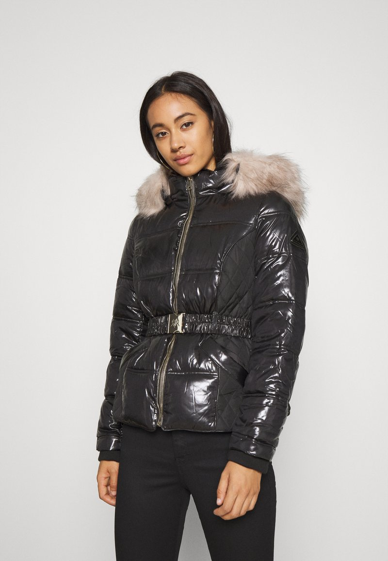 River Island - Light jacket - black