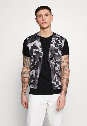 BODEN - Waistcoat - black/grey