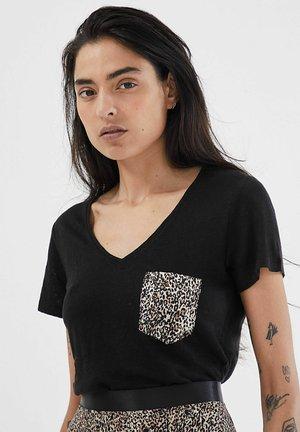 Print T-shirt - noir