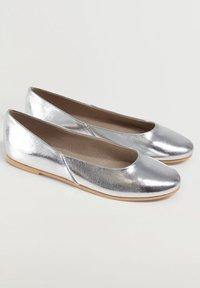 Mango - BANICO - Ballet pumps - silber - 2