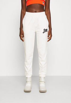 Boss x Russell Athletic EJOY  - Tracksuit bottoms - soft cream