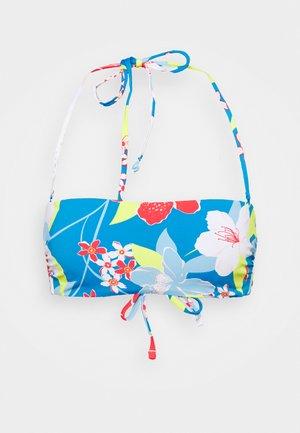 SHE JUST SHINES BANDEAU - Bikini top - french blue saya