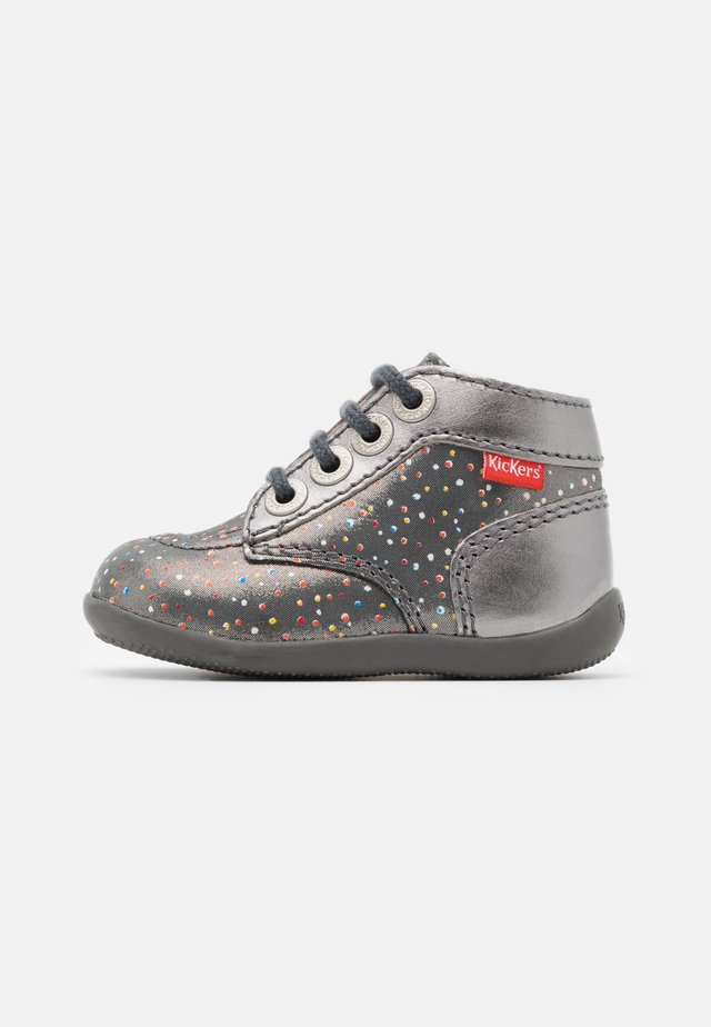 BONZIP UNISEX - Lace-up ankle boots - argent/multicolor