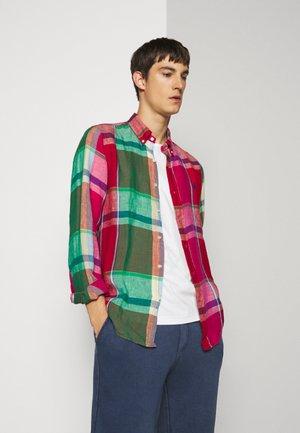 PLAID - Shirt - red/green