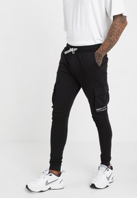 Only & Sons - ONSWF KENDRICK - Tracksuit bottoms - black - 0