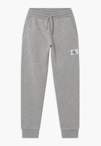Calvin Klein Jeans - MONOGRAM - Tracksuit bottoms - grey - 0