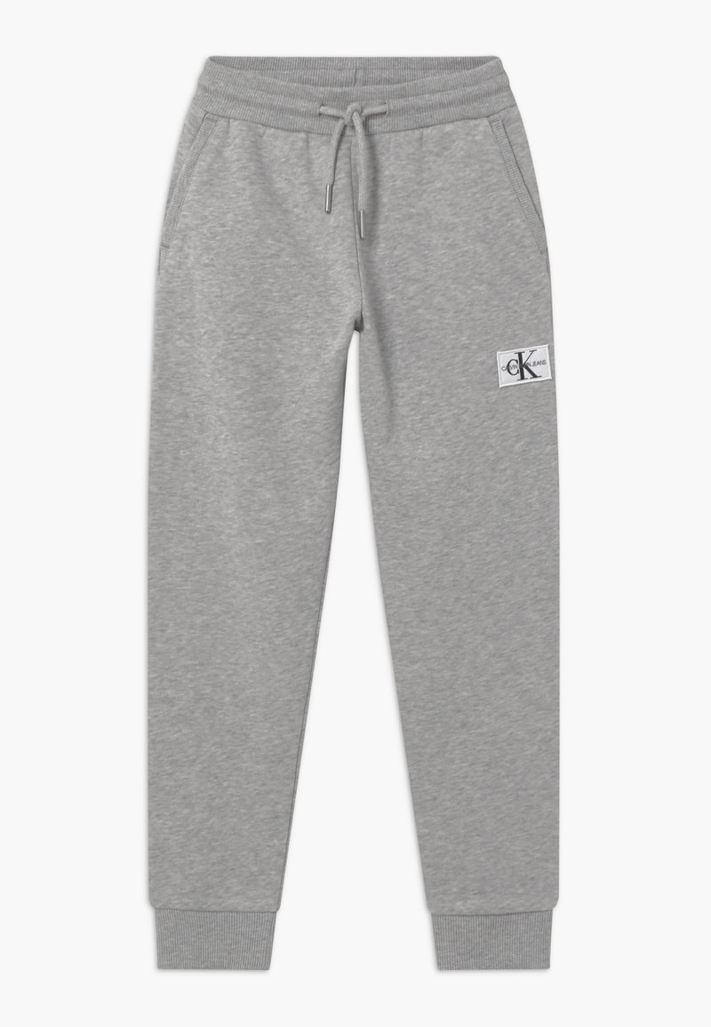 Calvin Klein Jeans - MONOGRAM - Tracksuit bottoms - grey