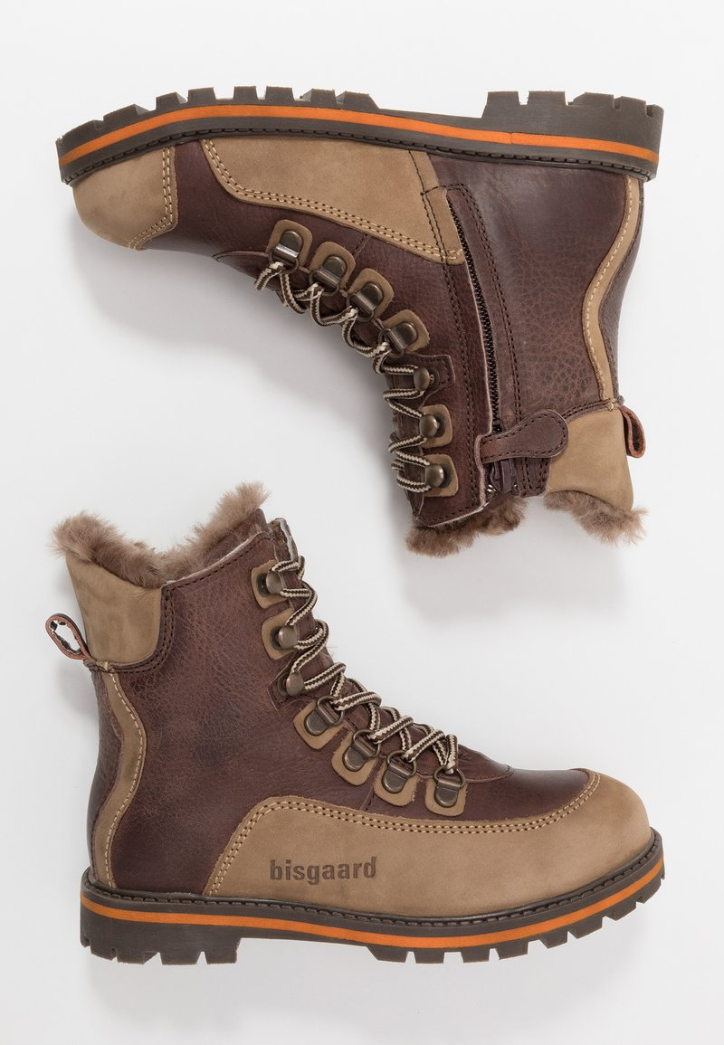 Bisgaard - Lace-up ankle boots - brown
