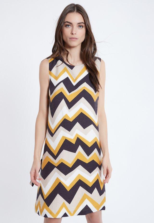 Korte jurk - bunt