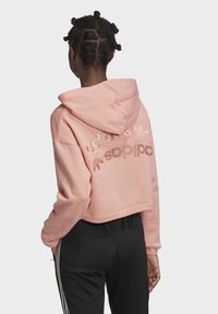 adidas Originals - R.Y.V. CROPPED HOODIE - Jersey con capucha - pink - 2