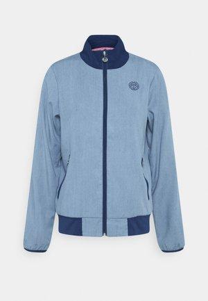 GENE TECH JACKET - Sportovní bunda - blue denim/dark blue