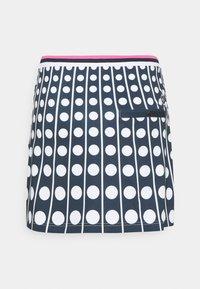 Cross Sportswear - ACTIVE SKORT - Rokken - navy dot - 1