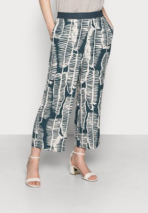CHOLENA - Trousers - pacific