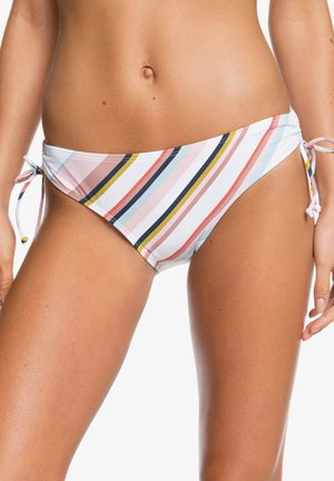 PRINTED BEACH CLASSICS - Bikini bottoms - bright white oriental stripe s