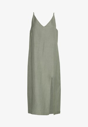SPIRITANIMAL BLEND SLIP DRESS - Day dress - sage