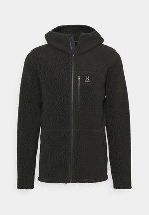 HOOD MEN - Fleece jacket - slate