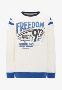 Petrol Industries - Mikina - white - 0