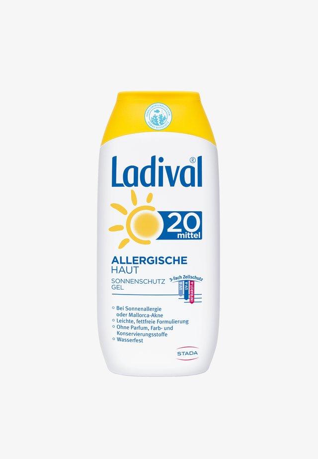 SONNENSCHUTZ ALLERGISCHE HAUT SONNENSCHUTZ GEL LSF 20 - Sun protection - -