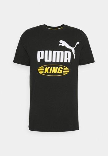 KING  - Print T-shirt - puma black