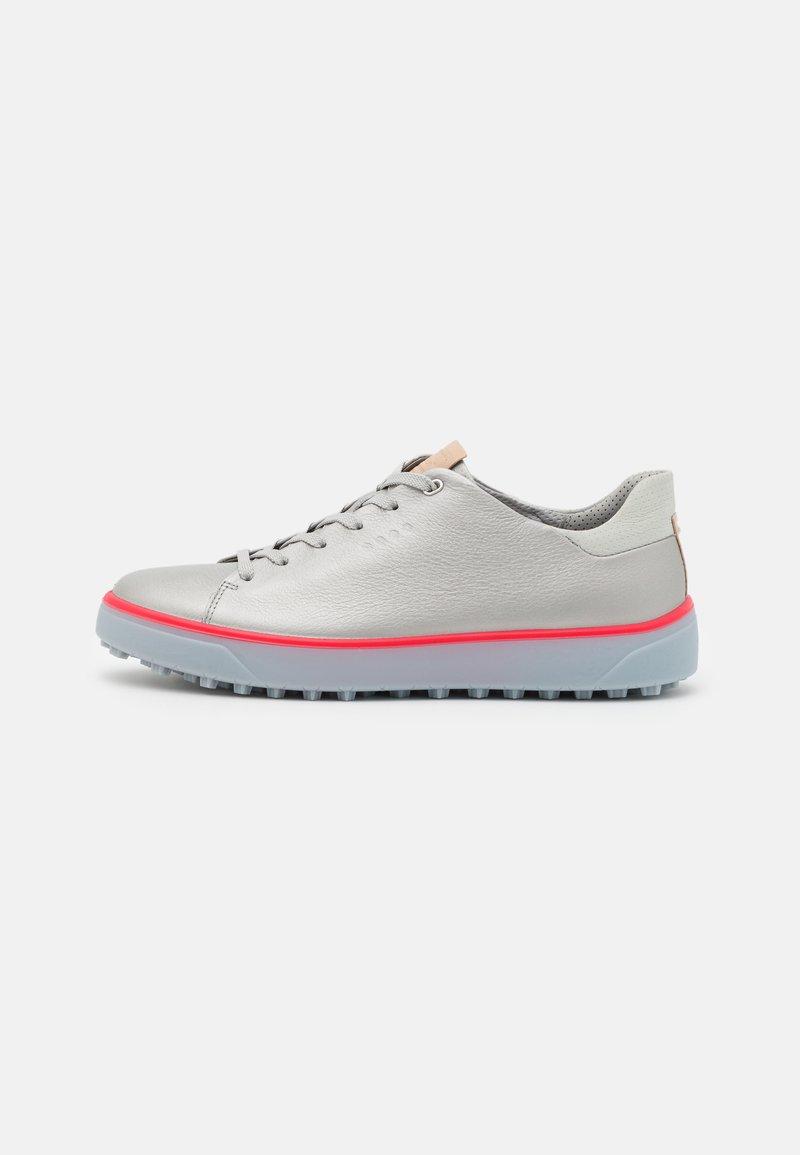 ECCO - TRAY - Golf shoes - alusilver