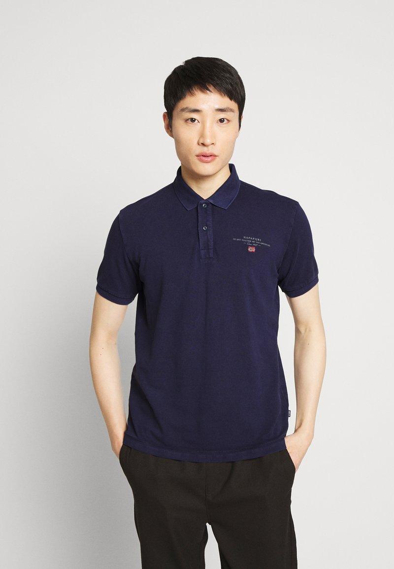 Napapijri - ELBAS - Poloshirt - medieval blue