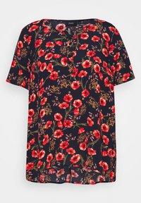 Zizzi - VBELLA BLOUSE - Print T-shirt - black - 3