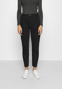 ONLY - ONLEMILY LIFE - Džíny Straight Fit - black denim - 0