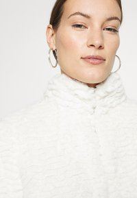 Dorothy Perkins - FUNNEL COLLAR COAT - Zimní kabát - cream - 4