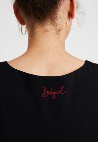 Desigual - CORDOBA - Denní šaty - black - 8