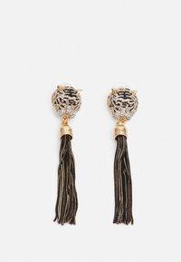 ALDO - ISTOKPOGA - Earrings - black and clear on gold-coloured - 0