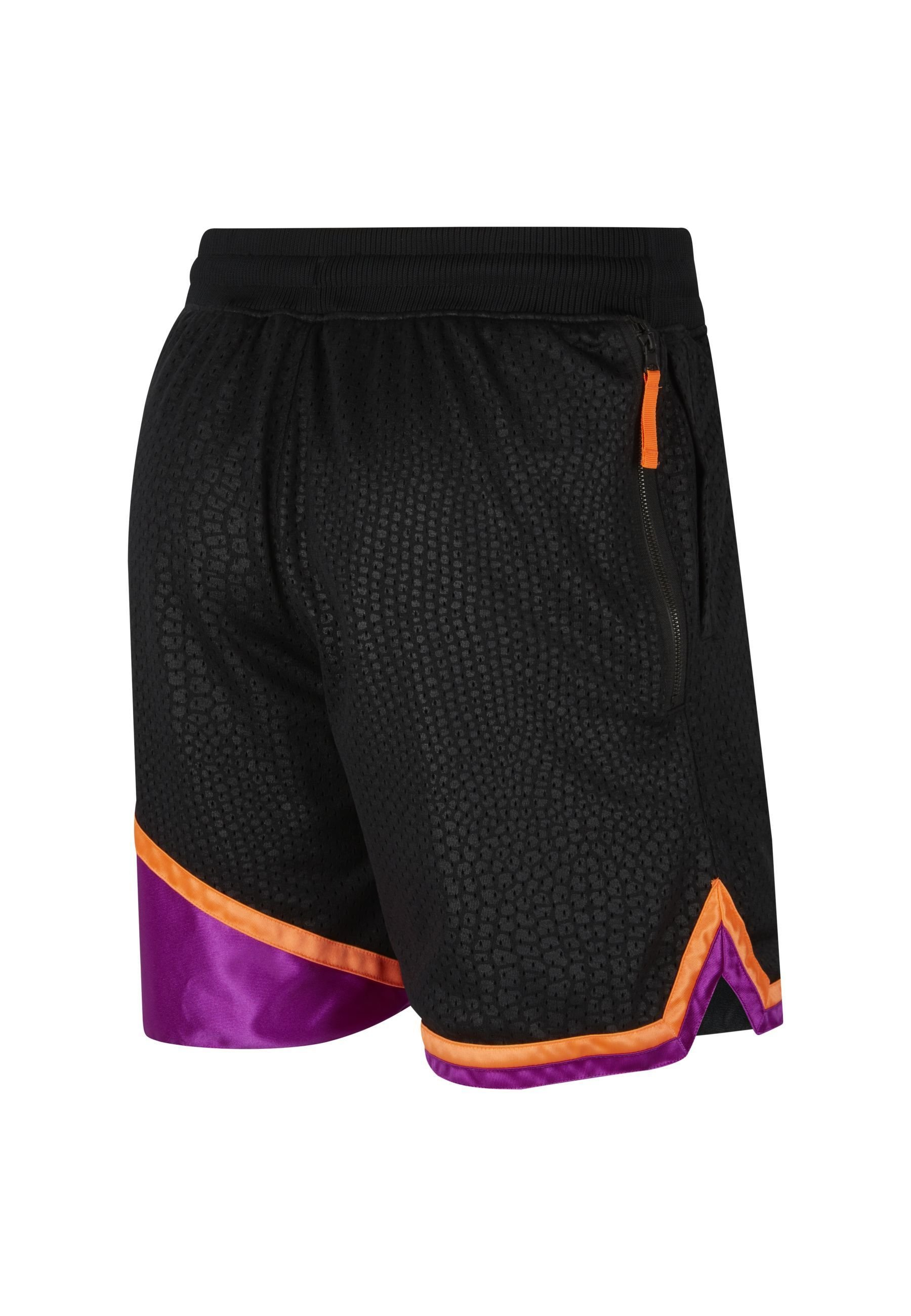 Nike Performance Short - black/vivid purple/total orange