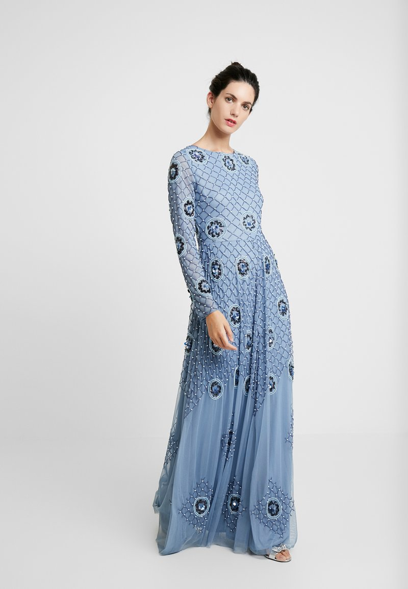 Lace & Beads - AMBER - Occasion wear - blue