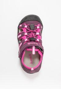 Kamik - CRAB - Walking sandals - plum/prune - 1