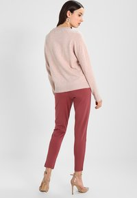 ONLY - POPTRASH EASY COLOUR  - Tracksuit bottoms - wild ginger - 2