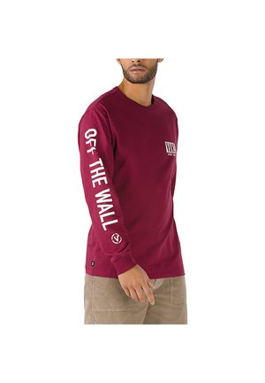 MN TYPE STACK OFF THE WALL GRAPHIC LS - Long sleeved top - rhododendron