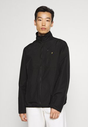 WASHINGTON ZIP THROU - Summer jacket - black
