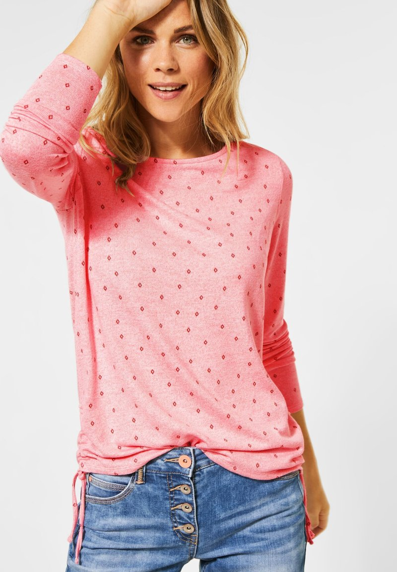 Cecil - Long sleeved top - rosa