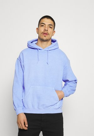 BREEZE RECEIPT REGULAR HOODIE - Collegepaita - light blue