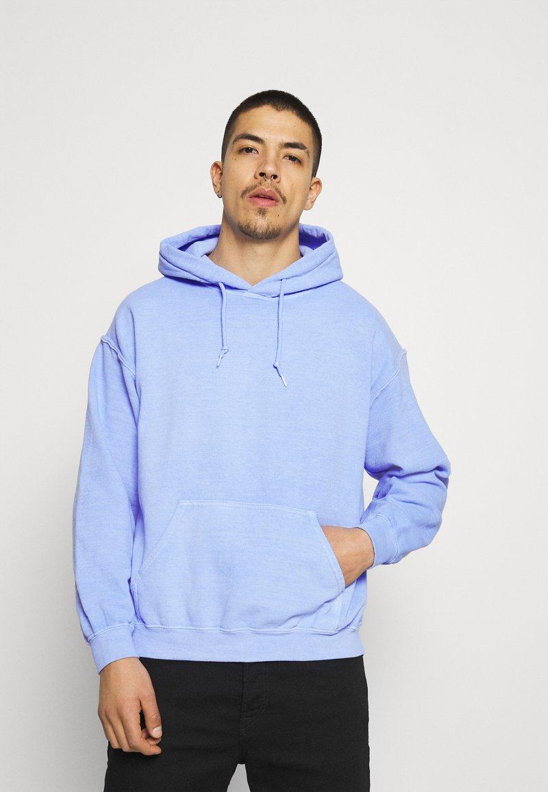 Mennace - BREEZE RECEIPT REGULAR HOODIE - Collegepaita - light blue