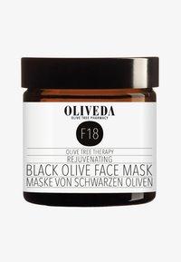 Oliveda - MASK BLACK OLIVES - REJUVENATING 60ML - Face mask - - - 0