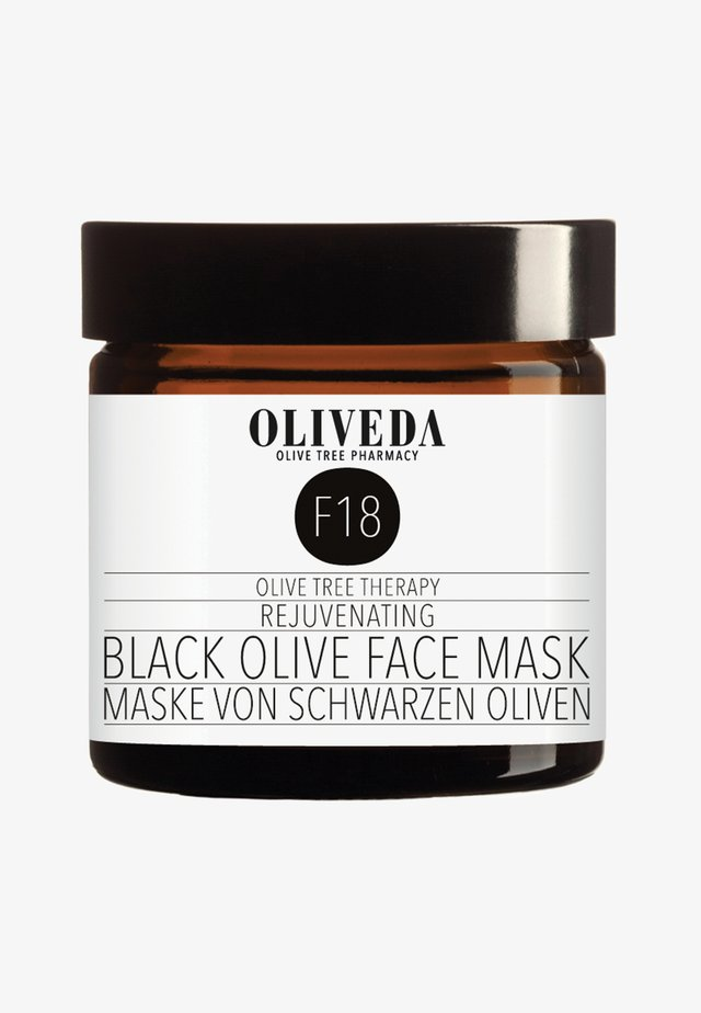 MASK BLACK OLIVES - REJUVENATING 60ML - Masque visage - -