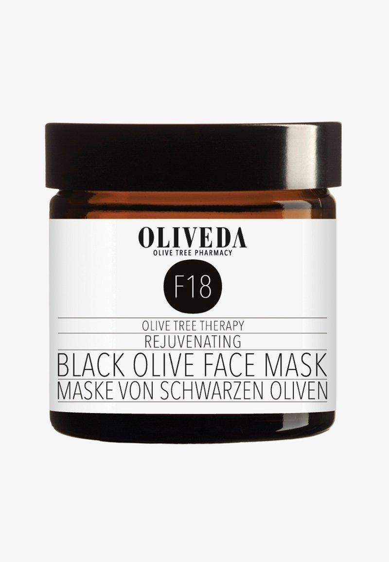 Oliveda - MASK BLACK OLIVES - REJUVENATING 60ML - Face mask - -